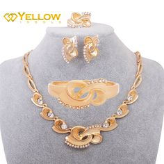 Normal Price: $̶3̶8̶.̶7̶6̶ SALE PRICE: $18.95 !! (buy now) * FREE SHIPPING WORLDWIDE *  Already include sets: earrings + bangles + rings + necklace  Indian Glorious Style 18k Real Gold Plated Jewelry Sets This product is good and suitable for women, gift, and bridal/wedding party. - Quality New Arrival Product . - Plated with 18k Real Gold . - Ships worldwide and Free Shipping . #jewelry #jewelrygoldplated #goldplatedjewelrysets #instajewelry #jewelryforsale #jewelrysets