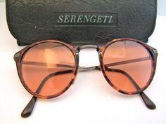 0662dc817524 Items similar to Vintage Serengeti Drivers 6204K Sunglasses With Case //  Model 6204K // Large Square Lens on Etsy