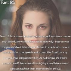 ~ {#twilightsaga#twilightcast#yellowcontacts#kristenstewart#robertpattinson#twifact83}