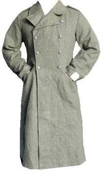 Vintage RAF Grey Great Coat / Overcoat - Wool Military Jacket ...