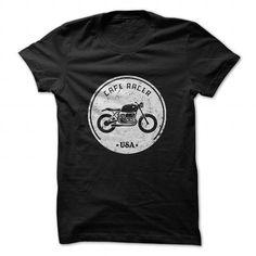 Cafe Racer USA T Shirts, Hoodies. Check price ==► https://www.sunfrog.com/Sports/Cafe-Racer-USA.html?41382