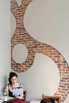 1000 bilder zu kreativ wandgestalltung auf pinterest w nde dekoration und deko. Black Bedroom Furniture Sets. Home Design Ideas