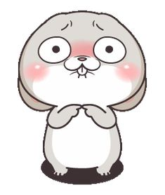 LINE Official Stickers - Very Miss Rabbit Narration Stickers Example with GIF Animation Cute Penguin Cartoon, Cute Cartoon Images, Cute Cartoon Drawings, Cartoon Memes, Animation, Satirical Illustrations, Rabbit Gif, Emoji Love, Cute Love Gif