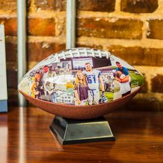 Have the coolest desk photo in the office. Give your hard-worker an awesome sports gift, a one of a kind football keepsake. MakeABall.com (scheduled via http://www.tailwindapp.com?utm_source=pinterest&utm_medium=twpin&utm_content=post98342297&utm_campaign=scheduler_attribution)