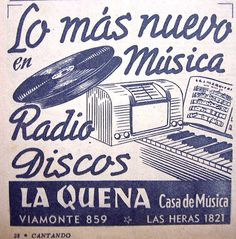 La Quena Casa de Música 1946