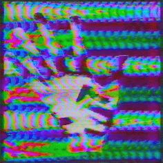The Current Sea glitch trippy psychedelic vhs