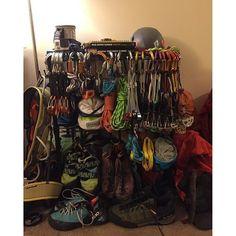 Gear collection of @broseidono_o #climbing #climbinggear #tradisrad #tradgear #gearstoke #weighmyrack