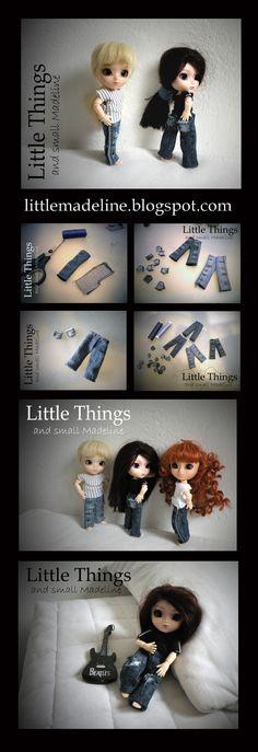 Little Jeans for little Pullip - body obitsu 11cm