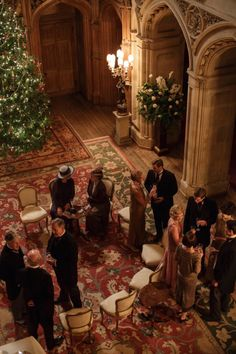 In the Abbey, Christmas Special, Season 6 English Christmas, Elegant Christmas, Christmas Jam, Edwardian Era, Victorian Era, Downton Abbey Series, Dowager Countess, Old Money, Christmas Aesthetic
