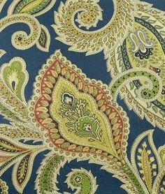 pretty paisley fabric