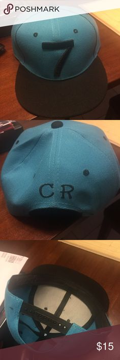 Cr7 cristiano ronaldo real madrid snapback hat cap Snap back soccer futbol football Accessories Hats