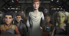 Star Wars Rebels Episode 3.16 Recap: Mon Motha Returns -- A critical leader in the Star Wars canon is finally revealed in the latest episode of Star Wars rebels titled Secret Cargo. -- http://tvweb.com/star-wars-rebels-season-3-episode-16-recap/