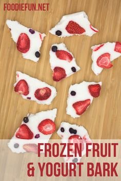 Frozen Fruit Bark
