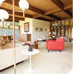 amazing mid-century home