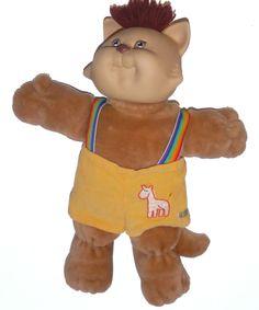 Cabbage Patch Kids Koosas Boy Cat Doll - Appalachian Artworks Rainbow Suspenders #CabbagePatchKidsAppalachianArtworksInc