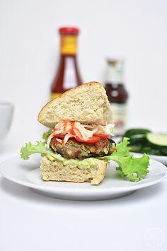 Dinkel-Quinoa-Burgerbrötchen