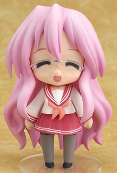 GoodSMILE Nendoroid lucky star Miyuki Takara PVC figure