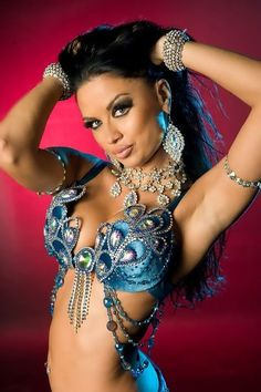 Belly dance costume love!