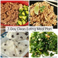 Clean Eating Meal Plans - Beach Ready Now *4-5 diff weeks to follow*