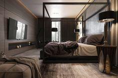 Guest bedroom on Behance