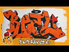 Graffiti Tutorial - How to draw graffiti letters REAL - YouTube