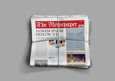 Indesign Newspaper Template @creativework247