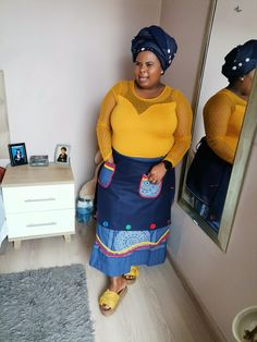 South African Traditional Dresses, Xhosa Attire, African Prints, Clothing Styles, Fashion Outfits, How To Wear, Clothes, Outfits, Fashion Suits