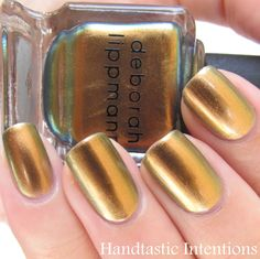 Handtastic Intentions: Swatch and Review of Deborah Lippmann: Swagga Like Us