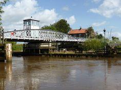 Road/river bridge Cawood, Selby.