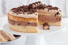 Ciasto z wafelkową warstwą - I Love Bake Tiramisu, Ale, Cheesecake, Food Porn, Sweets, Baking, My Love, Ethnic Recipes, Lion