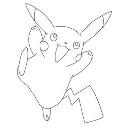 pikachu pokemon coloring pages printable and coloring book to print for free. Find more coloring pages online for kids and adults of pikachu pokemon coloring pages to print. Farm Animal Coloring Pages, Alphabet Coloring Pages, Coloring Pages To Print, Free Printable Coloring Pages, Coloring Books, Coloring Worksheets, Colouring Sheets, Pokemon Go Meme, Pokemon Go Images