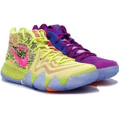 best sneakers f637c 1f307 Nike Kyrie 4 Four Confetti Multi-Color 943806-900