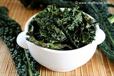 Baked Kale Chips...yummers