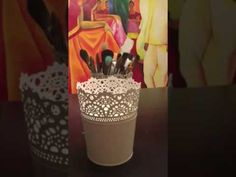 ART Hack - Storing brushes - YouTube