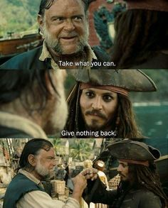 Image result for pirates of the caribbean take what you can give nothing back