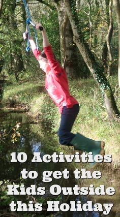 We all know that we should be encouraging children to spend as much time outside as possible. Here are ten free activities that will appeal to kids of all ages.