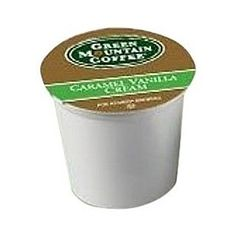 Green Mountain Coffee Caramel Vanilla Cream,  K-Cup Portion Pack for Keurig K-Cup Brewers, 24-Count      http://www.amazon.com/dp/B004779XSM/?tag=pinterest07d-20