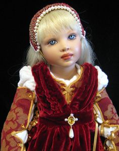 Renaissance Pattern for 16 dolls such as Helen Kish by EABNYC, $15.00