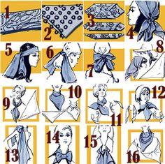 28 manieren hoe je je sjaal kan dragen