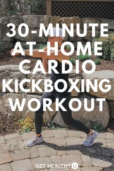 Get ready for a 30-Minute Bodyweight Cardio Kickboxing HIIT Workout! Follow along as we combine cardio kickboxing drills with a HIIT style workout meant to get your heart rate up and your blood pumping! Take it outdoors or do it in the comfort of your own living room. Hiit Workout At Home, Step Workout, Kickboxing Workout, Muscle Building Workouts, Cardio Workouts, Pumping, Heart Rate, Drills, Health Remedies