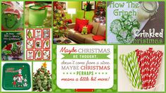 Joyously Domestic: Grinch-Themed December Movie Night Party