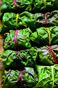 Veggie-packed burritos inspired by Greek dolmades. A great way to use gorgeous rainbow Swiss chard. This recipe is vegan and gluten-free. Vegetable Dishes, Vegetable Recipes, Vegetarian Recipes, Healthy Recipes, Plant Based Recipes, Burritos, Greek Recipes, Whole Food Recipes, Cooking Recipes