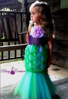 Mermaid Halloween costume!