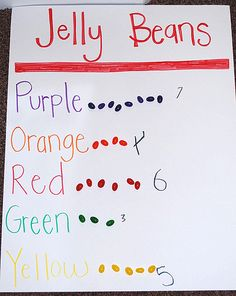 j is for jelly bean math!