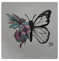 62 ideas for flowers tattoo designs sketches skulls Hand Tattoos, Time Tattoos, Flower Tattoos, Body Art Tattoos, Small Tattoos, Tatoos, Pencil Art Drawings, Tattoo Drawings, Art Sketches