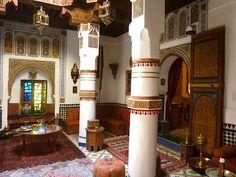 Immobilier - maison d'hôtes et riad à Marrakech www.cotemedina.com