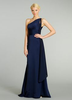 Noir By Lazaro Style 3287 Fall 2012. For Bridesmaid but in black :)