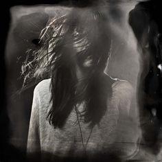 Ian Ruhter/ Wet Plate Collodion/Holga Camera / Christina/Lake Tahoe Ca, 10.31.2012