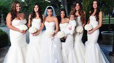 kim-kardashian-casamento-madrinhas-damas-de-honra-de-branco