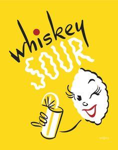 Whiskey Sour Print